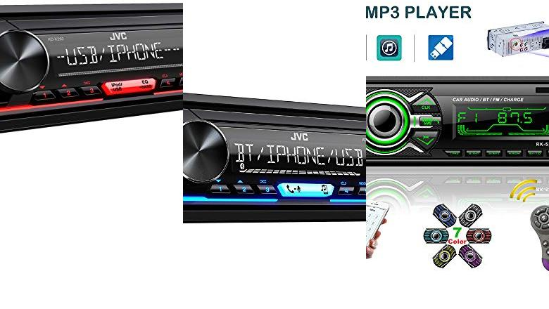 RADIO DE COCHE BLUETOOTH JVC