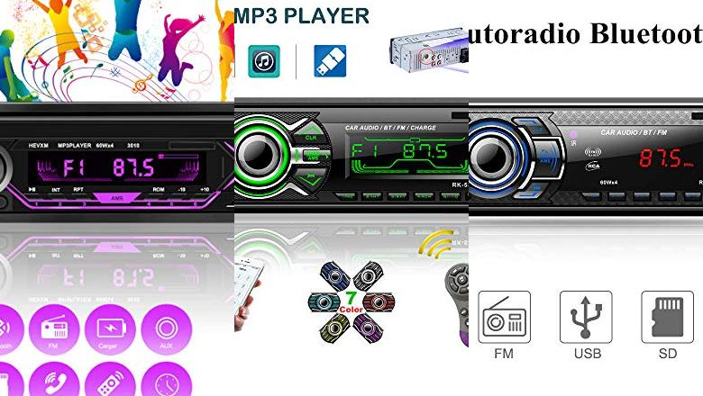 RADIO USB COCHE BLUETOOTH