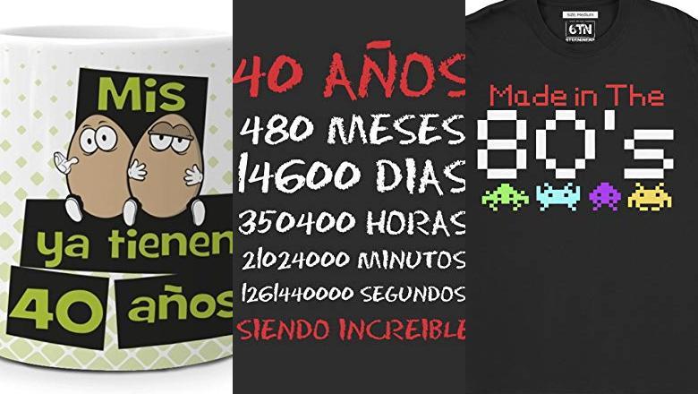 REGALO 40 CUMPLEAÑOS