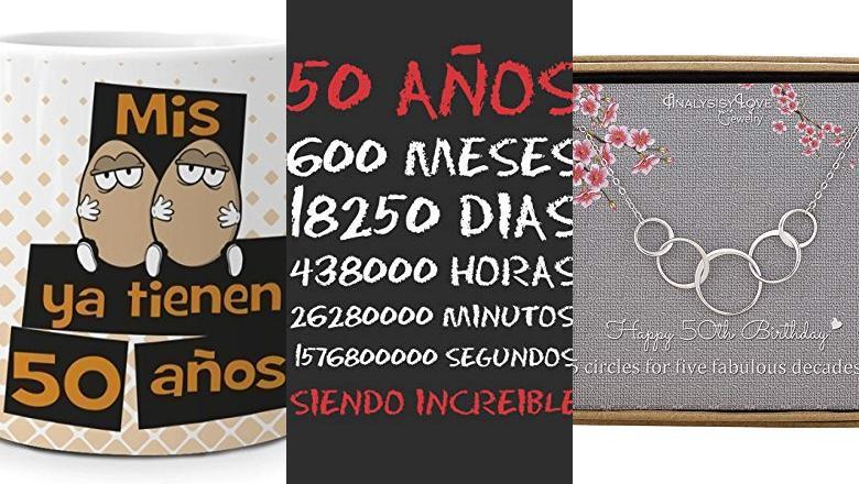 REGALO 50 CUMPLEAÑOS