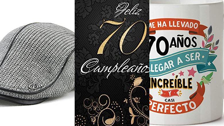 REGALO 70 AÑOS HOMBRE