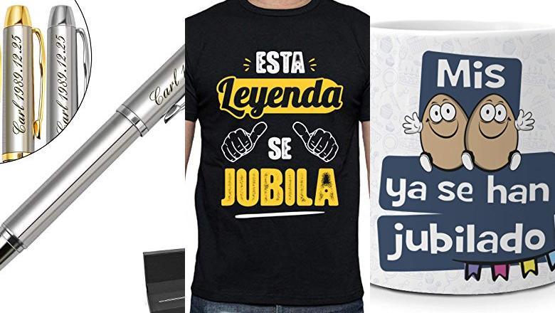 REGALOS JUBILACION HOMBRE