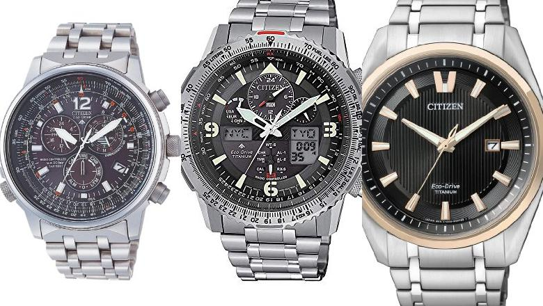 RELOJES CITIZEN ECO DRIVE SUPER TITANIUM