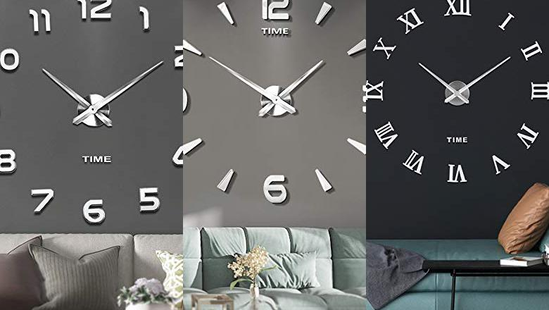 RELOJES GRANDES DE PARED PARA SALON