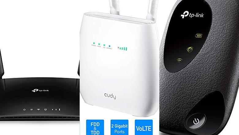 ROUTERS 4G LTE
