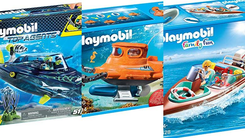 SUBMARINO PLAYMOBIL