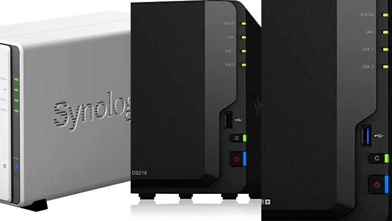 SYNOLOGY 2 BAY NAS DISKSTATION DS218