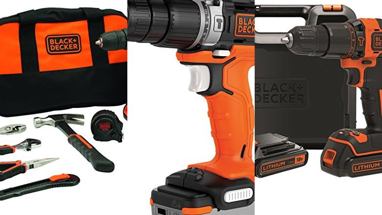 TALADRO SIN CABLE BLACK&DECKER