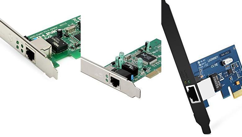 TARJETAS ETHERNET PCI-E