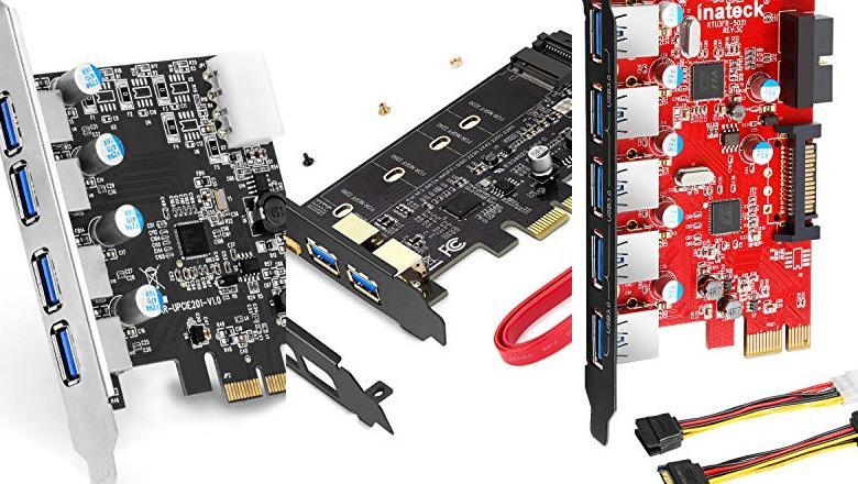 TARJETA EXPANSION USB