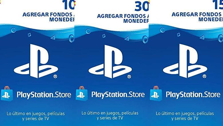 TARJETAS PREPAGO PS4