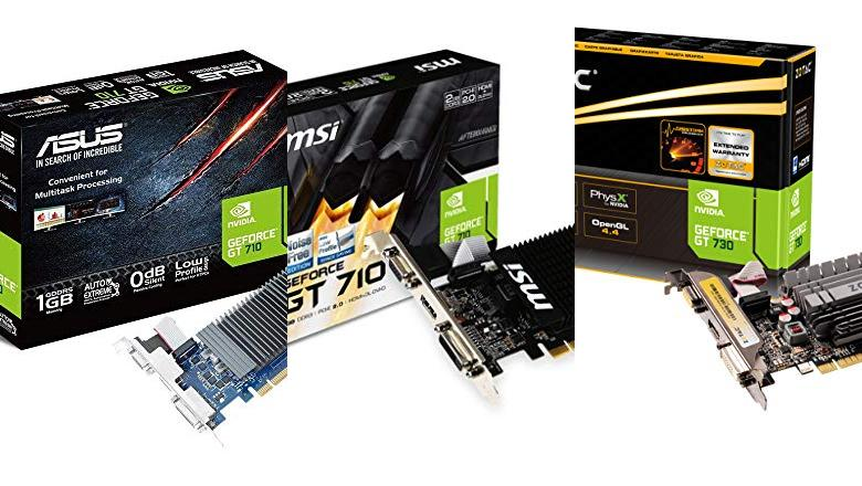 TARJETAS VIDEO PCI EXPRESS