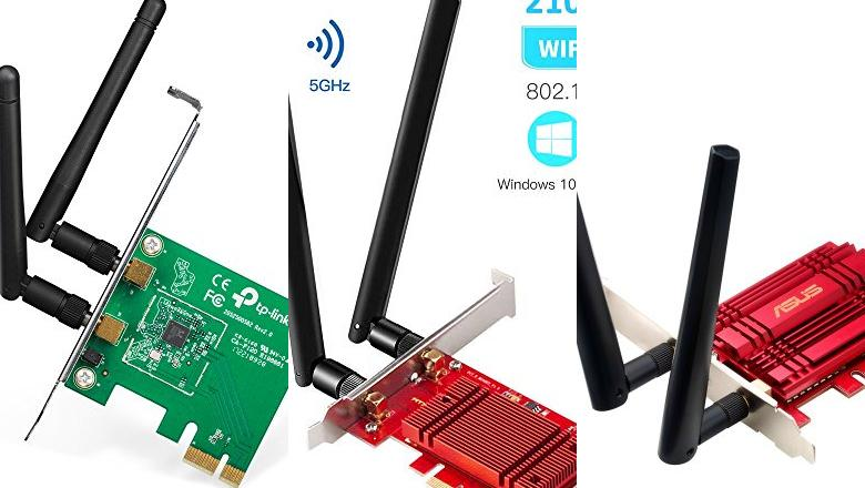 TARJETAS WIFI INTERNA