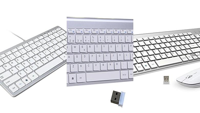 TECLADOS USB BLANCO