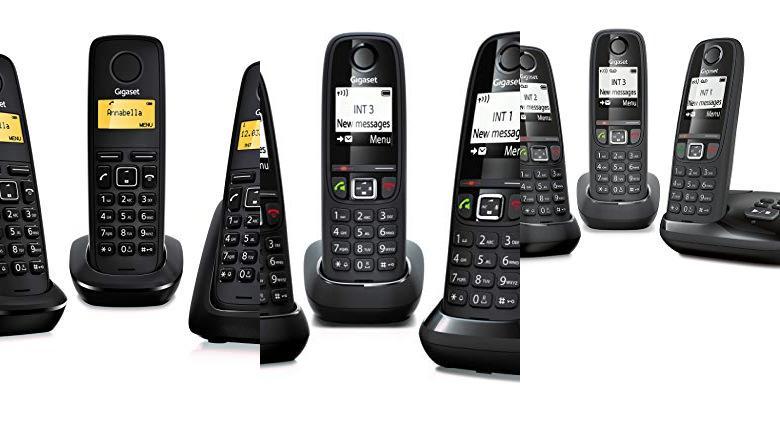 TELÉFONOS INALÁMBRICOS 3 TERMINALES