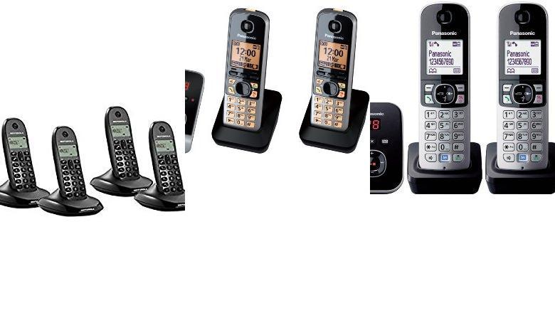 TELÉFONO INALÁMBRICO 4 TERMINALES