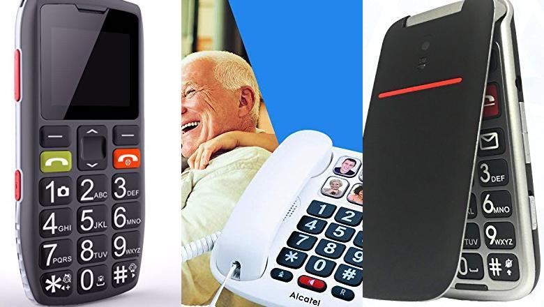 TELÉFONOS INALÁMBRICOS PARA MAYORES MANOS LIBRES