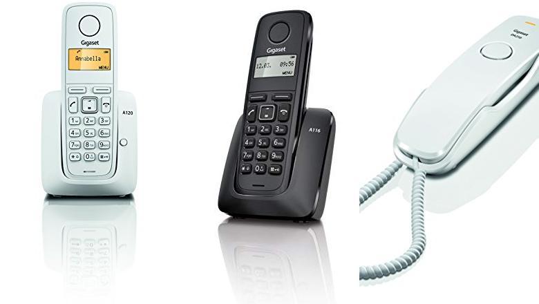 TELÉFONO INALÁMBRICO DE PARED