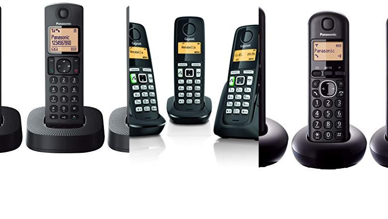 TELÉFONO INALÁMBRICO TRIPLE