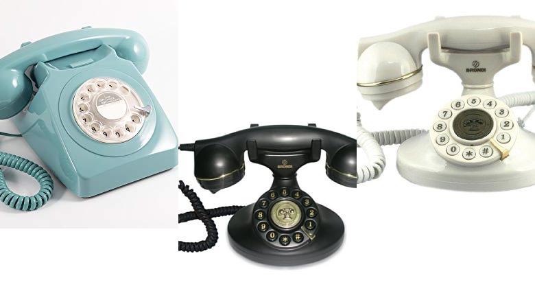 TELÉFONOS RETRO INALAMBRICO