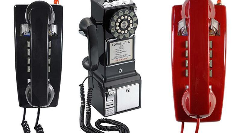 TELÉFONO RETRO PARED