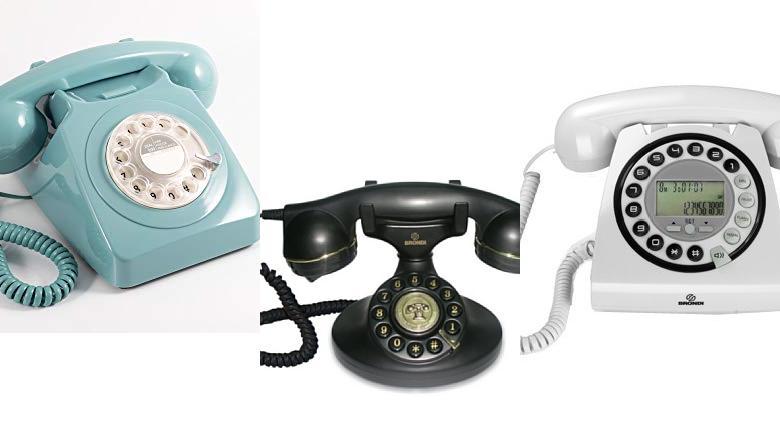 TELÉFONOS RETRO VINTAGE