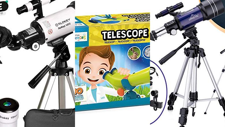 TELESCOPIO ASTRONOMICO PARA NIÑOS