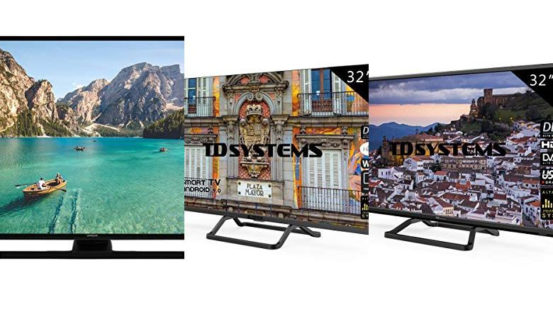 TELEVISORES 32 PULGADAS SMART TV