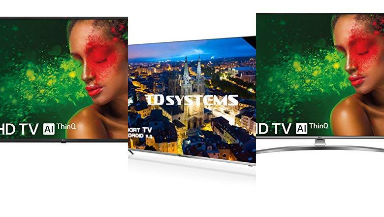 TELEVISOR 55 PULGADAS 4K SMART TV