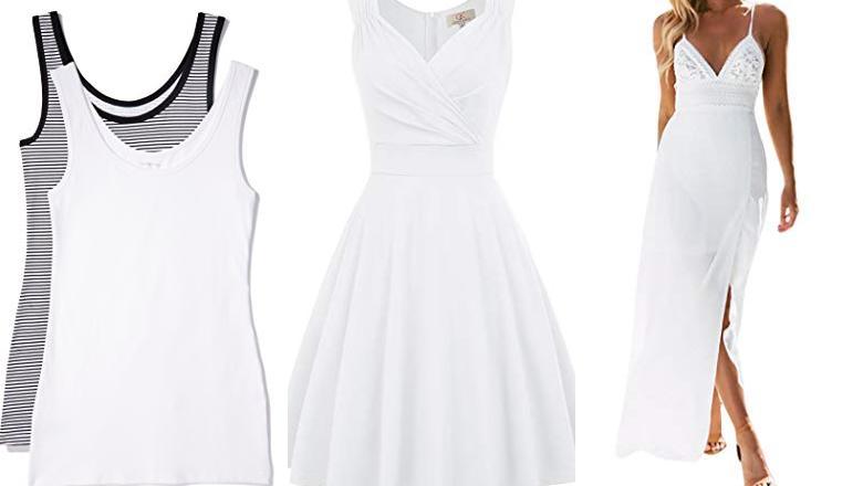 586ba42007 Comprar Vestido Blanco  OFERTAS TOP junio 2019