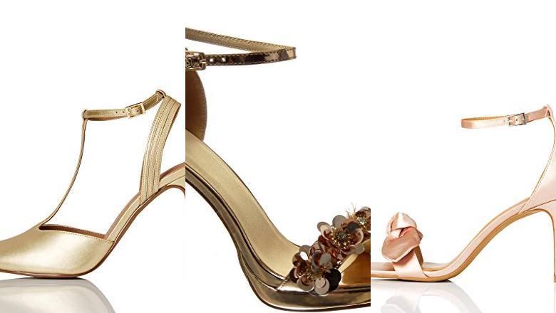 ▷ Mejores 20 Zapatos Dorados Tacon de 2020 ¡Comprar Bueno